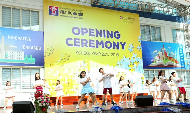 The School year 2017-2018 Opening Ceremony   Primary